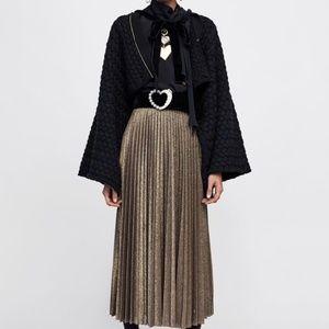 Zara CARDIGAN CAPE WITH TIE
